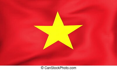 Flag Of Vietnam - Developing the flag of Vietnam