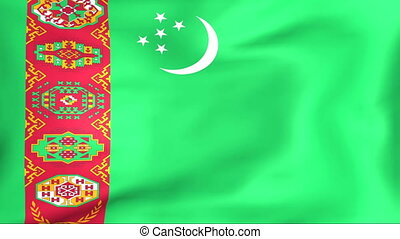 Flag Of Turkmenistan - Developing the flag of Turkmenistan