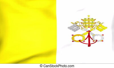 Flag Of Vatican - Developing the flag of Vatican