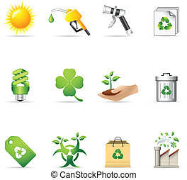 Web Icons - More Environment - Environment icon set EPS 10...