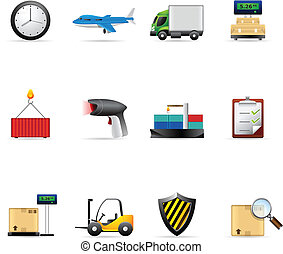Web Icons - More Logistic