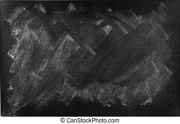 Blackboard - Chalk rubbed out on blackboard