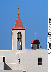 Travel Photos of Israel - Acer Akko - St. Johns Church in...