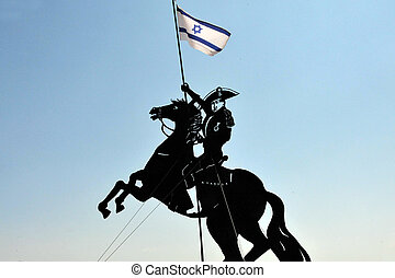Travel Photos of Israel - Acer Akko - Statue of Napolion in...
