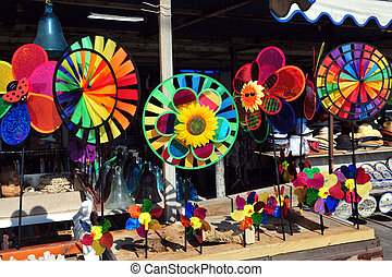 Travel Photos of Israel - Acer Akko - Children toy windmill...