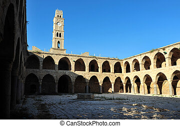 Travel Photos of Israel - Acer Akko - Ottoman landmark...