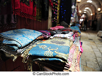 Travel Photos of Israel - Acer Akko - Goods in the old...