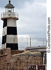 Travel Photos of Israel - Acer Akko - Akko lighthouse in...