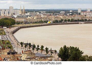 Bordeaux dockside