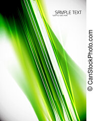 Green lines background - Green straight lines vector...