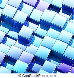 Multicolor abstract background, 3d render