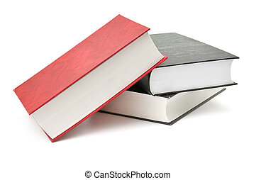 book isolated on a white background...