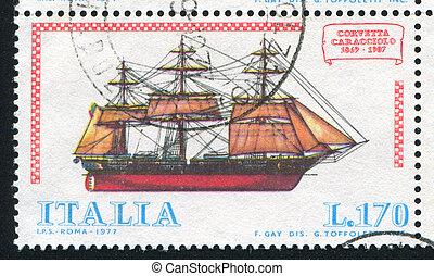 italiano, navio