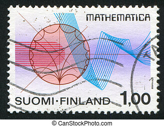 Functions Theory - FINLAND - CIRCA 1978: stamp printed by...