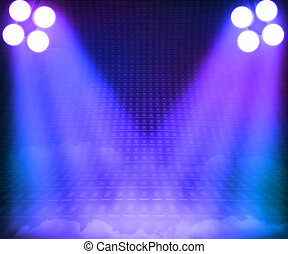 Grant Stage Spotlight Background