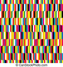 Striped colored background, seamless pattern