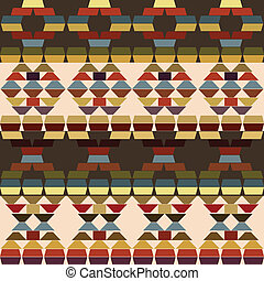 Ethnic motifs background made of stripes