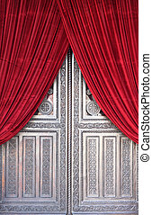 Metropolis Church Door - Door of the metropolitan cathedral...