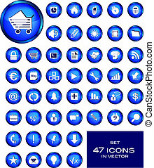 Set - Icons Business