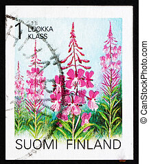FINLAND - CIRCA 1992: a stamp printed in the Finland shows...