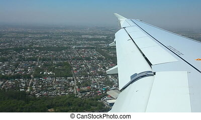 Aerial view - Aerial view from reduced airplane