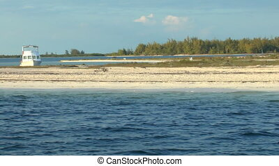 Sandy beach of Cayo Largo del Sur,
