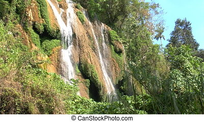 Waterfalls in Topes de Collantes, C