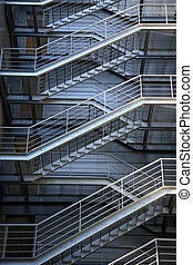 evacuation metalic stairs - emergency evacuation metalic...