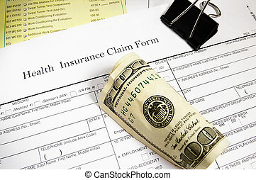 claim form and cash