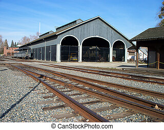 old train satation - historical train station at Old...