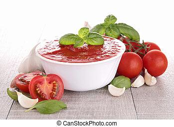 tomato saucegazpacho