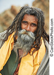 indio,  Sadhu, monje