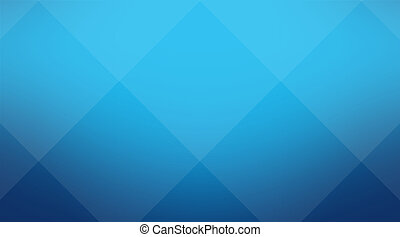 Blue cubic background - Abstract background for...
