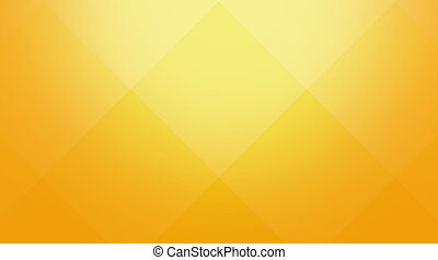 Yellow-orange cubic background - Abstract background for...