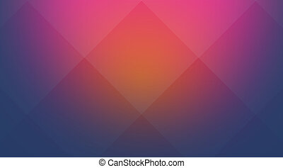Pink-blue cubic background