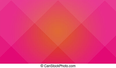 Orange-pink cubic background - Abstract background for...