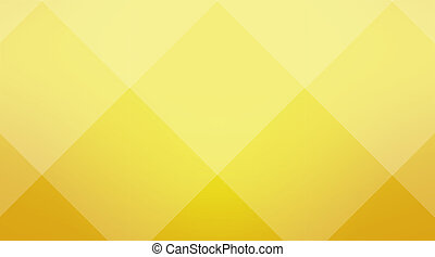 Yellow cubic background