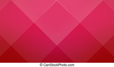 Red cubic background