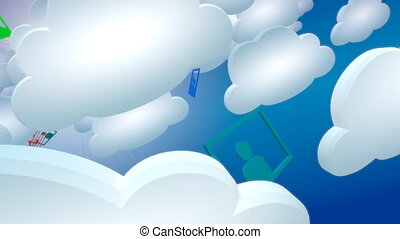 Cloud computing. - Cloud computing and multimedis services.