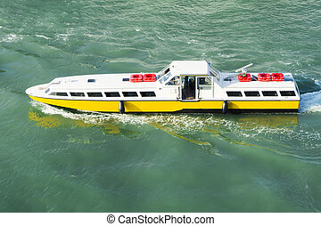 Water bus Venice Italy - An image of the water bus in Venice...