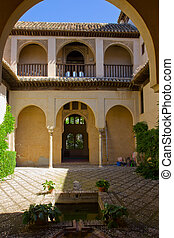Palace of Dar-Al-Horra, Granada, Spain - Palace of Dar Al...
