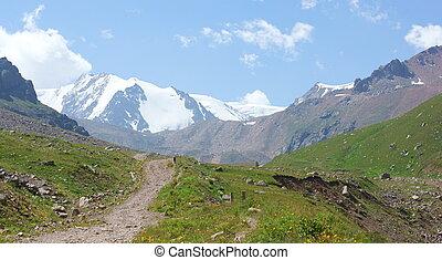 Beautiful mountin trail