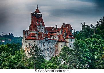 Bran Castle, landmark in Romania