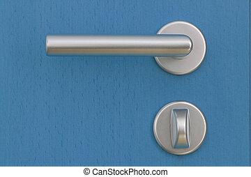 Doorhandle - With the door handle, the door is opened by the...