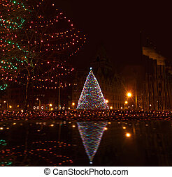 christmas in the city - christmas season in syracuse, new...