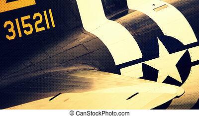 Douglas C-47 Skytrain WW II transport airplane