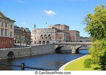 stockholm sweden building