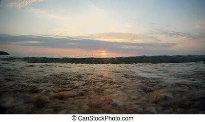 Waves on coast