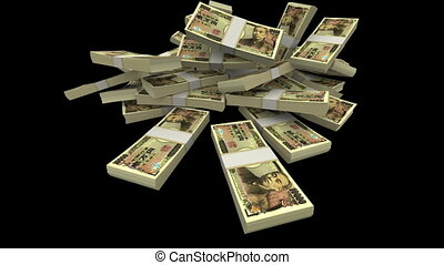 Falling Yen JPY Packs (with Matte) - Falling ten thousands...