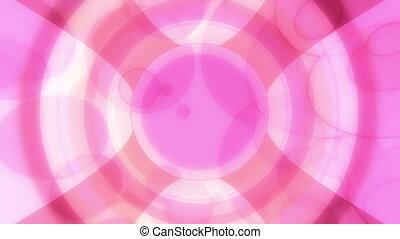 Retro Multicolor Abstract Loop